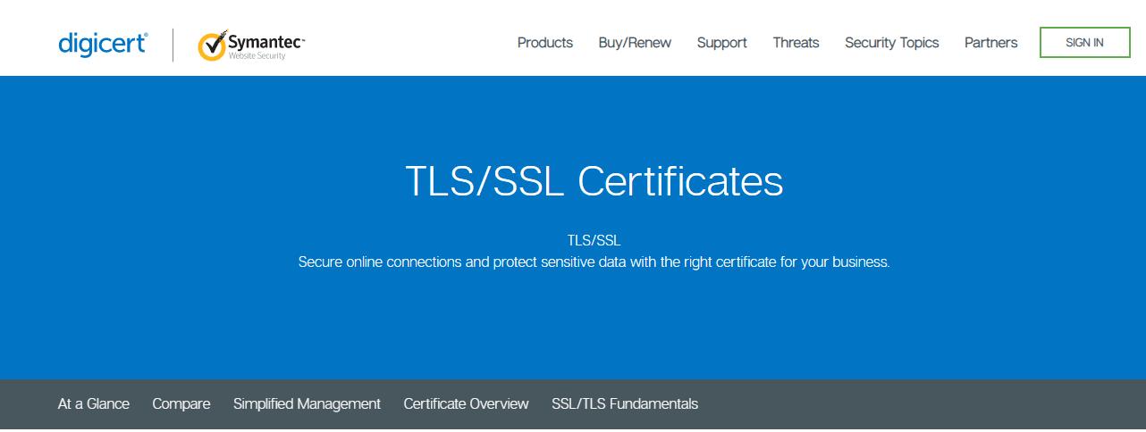 Symantec - Free SSL Certificate Provider