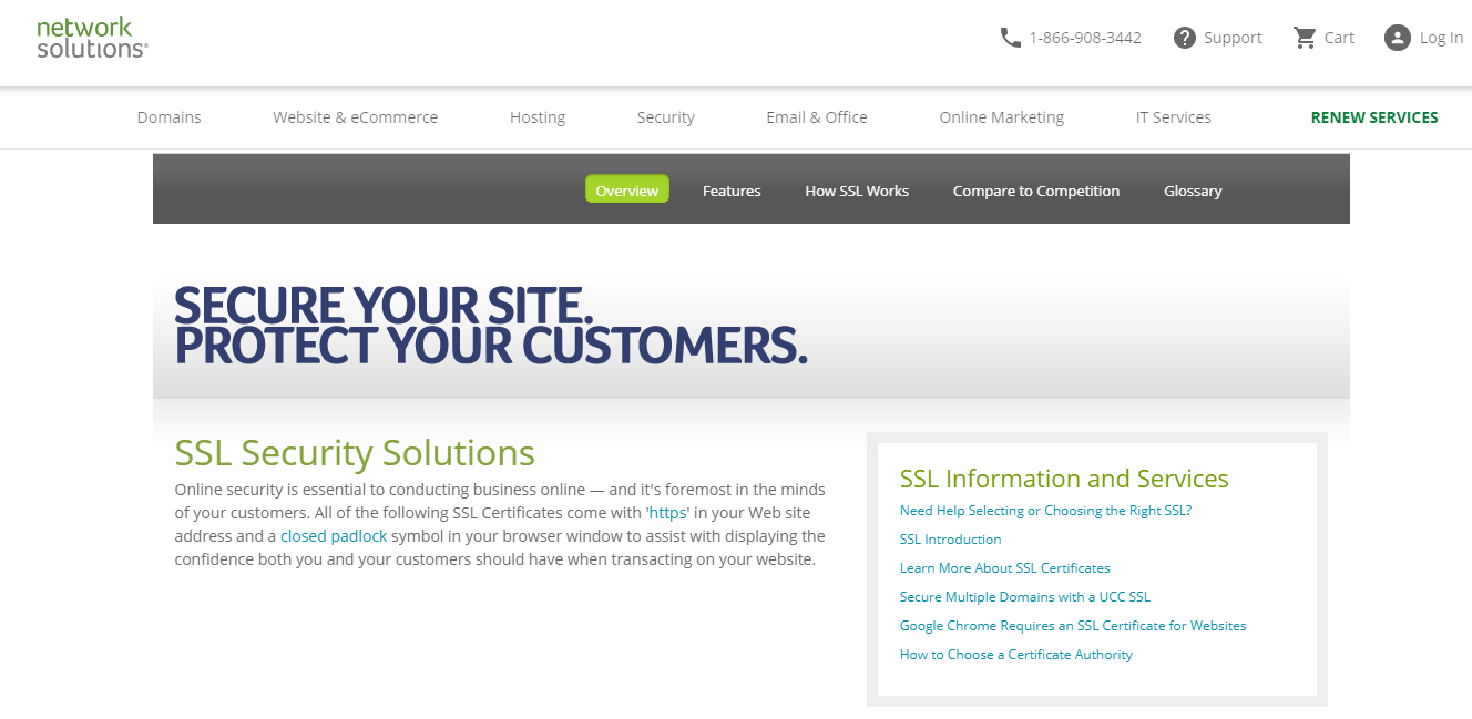 Network Solutions - SSL Provider