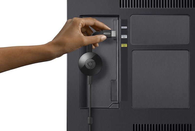 Plugin the Chromecast to Your TV