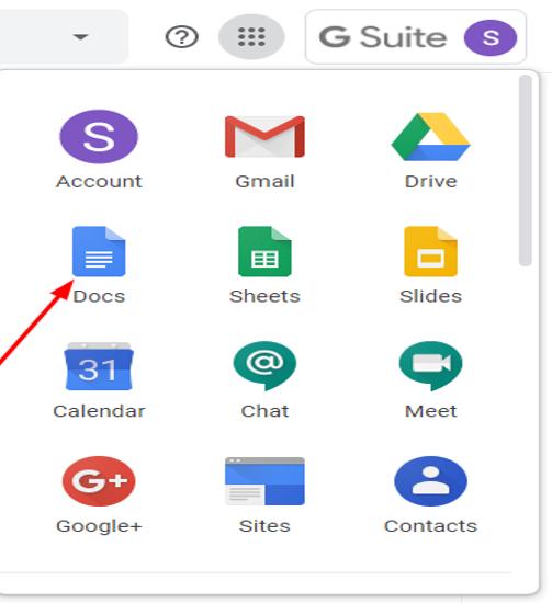 Access Google Docs