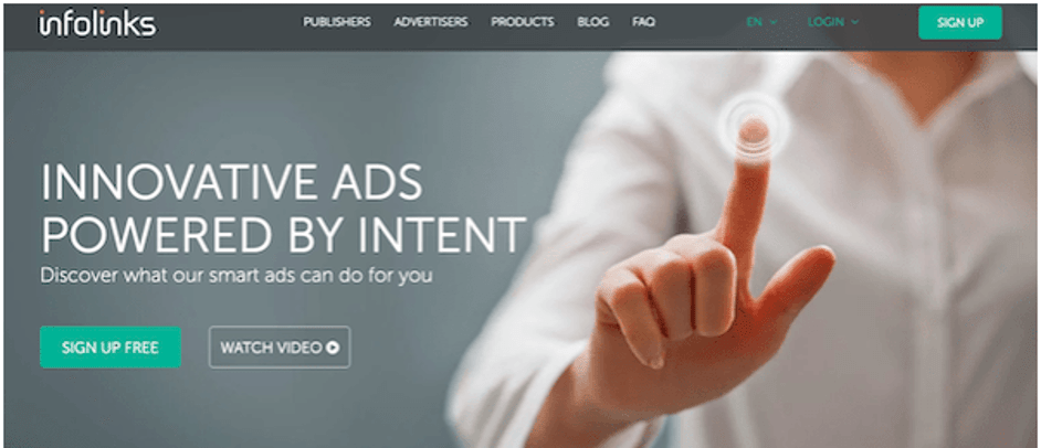 Infolinks - Best Google Adsense Alternative