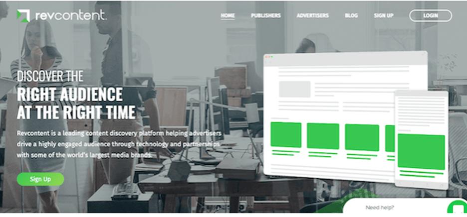 Revcontent - Best Alternative to Google AdSense