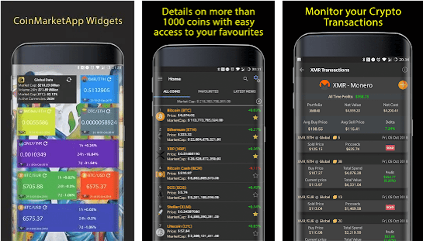CMA -  Free Cryptocurrency App
