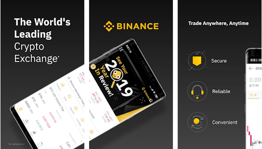 Binance Crypto Trading App