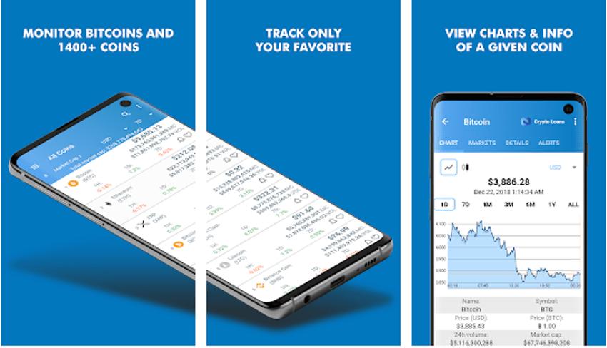 Coin Market App For Crypto Trading