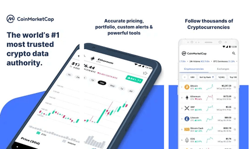 CoinMarketCap - Cryptocurrency Trading App