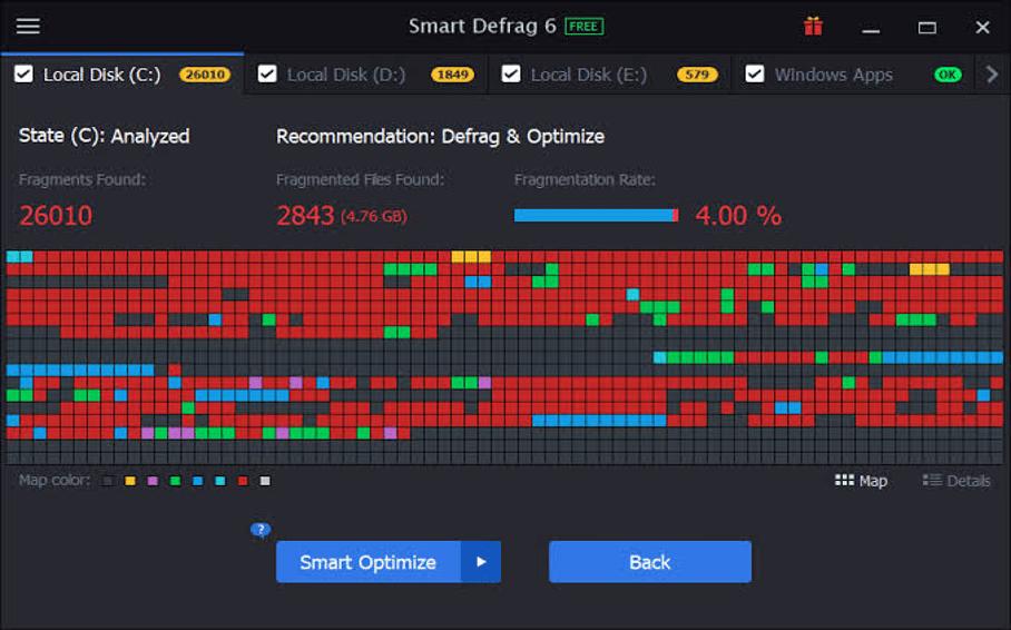 Smart Defrag Software For Windows