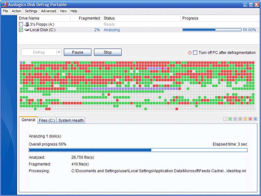 Auslogics Disk Defrag - Best Defragmenter Software