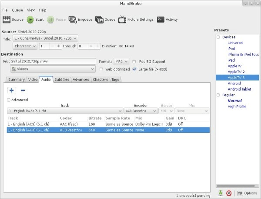 HandBrake - Free DVD Ripper Software