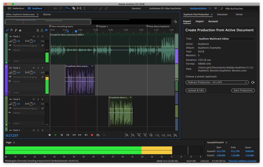 Adobe Audition - Sound recording tool for Windows