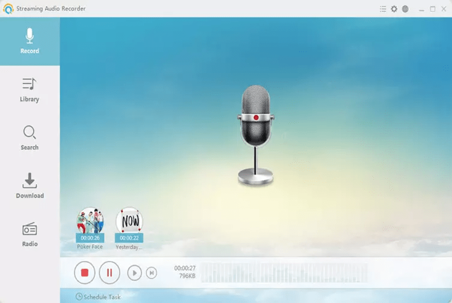 Best Audio Recording Software - Streaming Audio Recorder