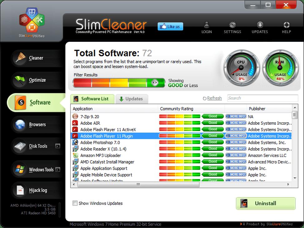 SlimCleaner/Slimware