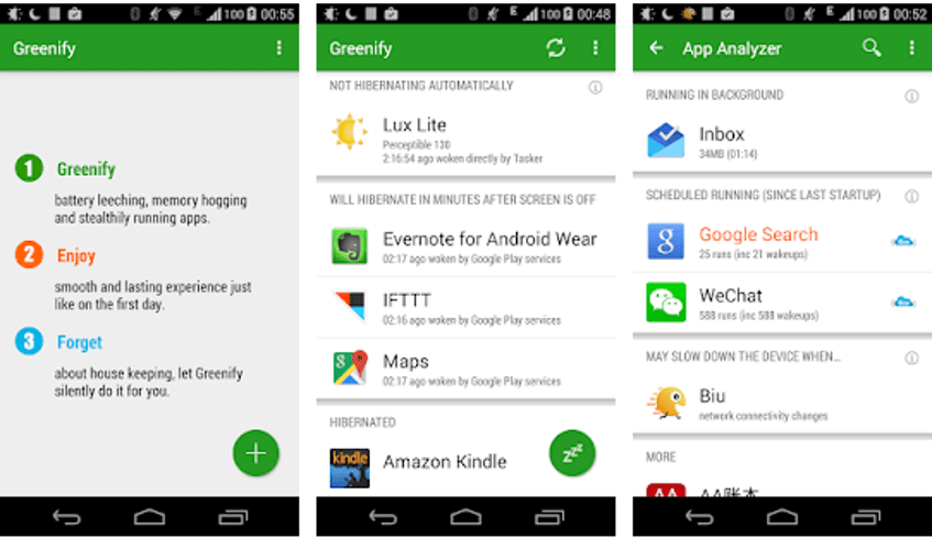 Greenify - Battery Saver App for Android