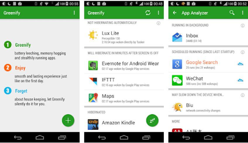 Best Battery Saver App - Greenify