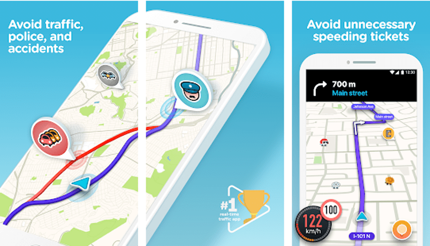 Best Google Map Alternative - Waze