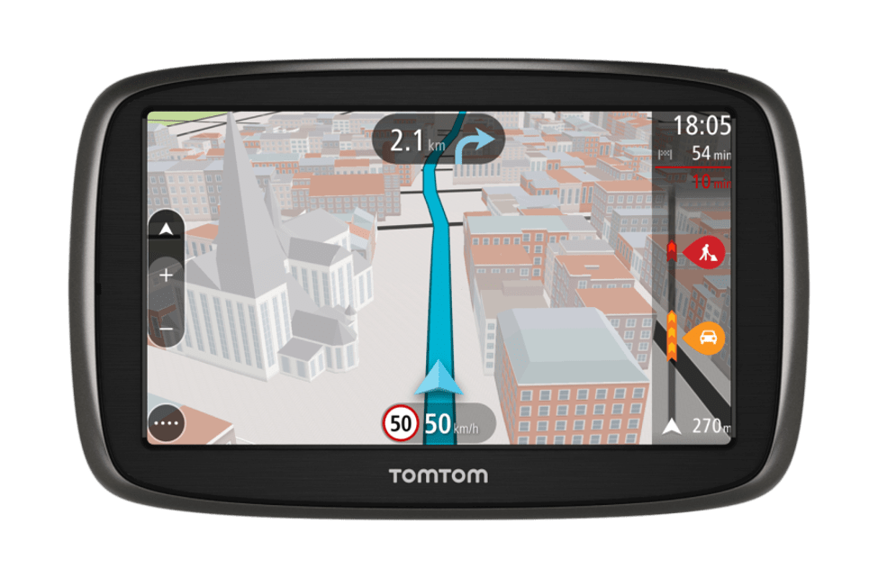Best Google Map Alternative - TomTom