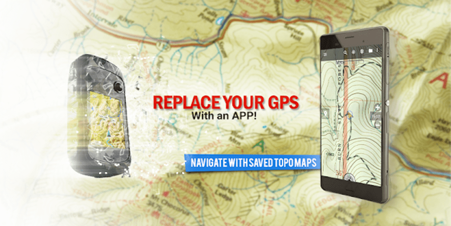 Best Google Map Alternative - BackCountry Navigator TOPO GPS