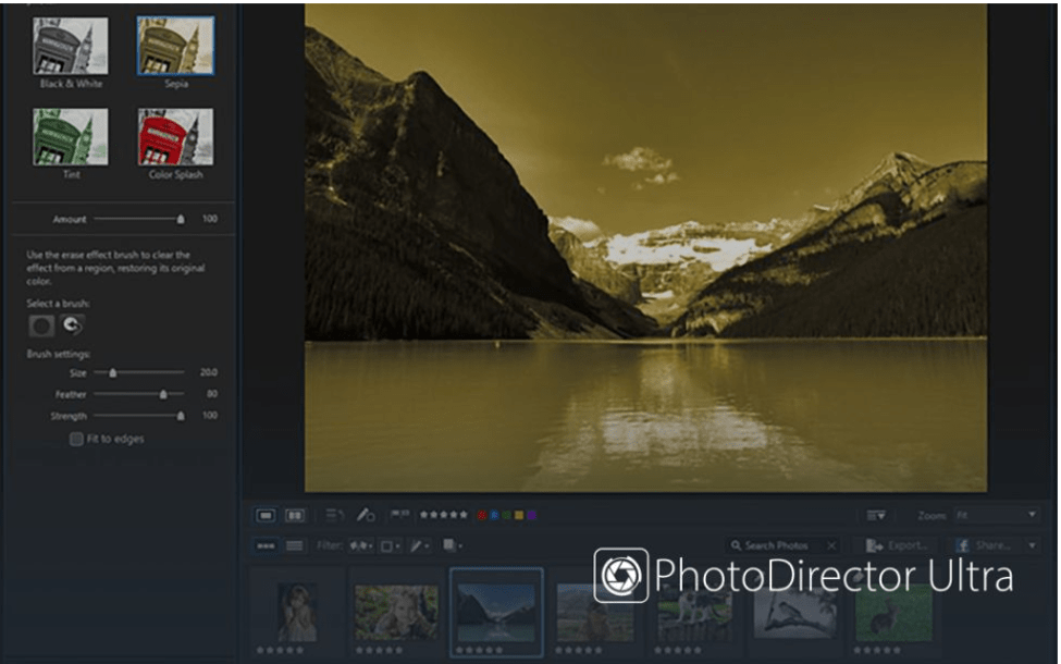 Best Photo Organizing Software - CyberLink PhotoDirector 10