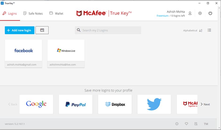 Best Password Managers Software - TrueKey