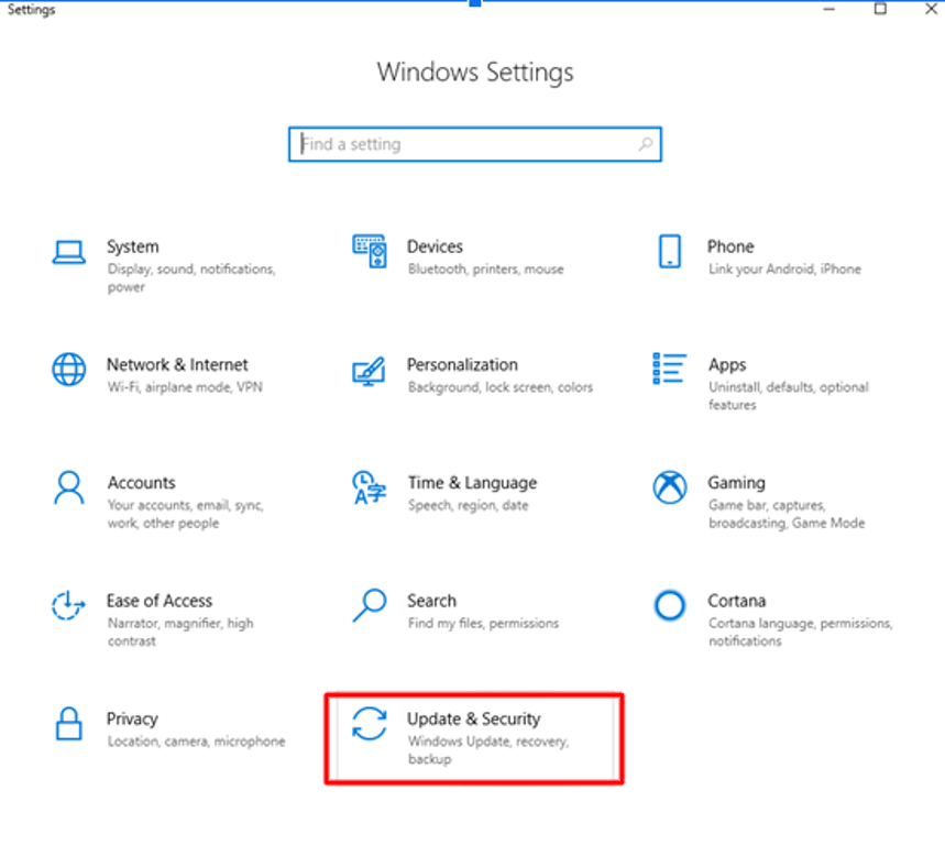 Update-and-Security-of-Windows-Settings