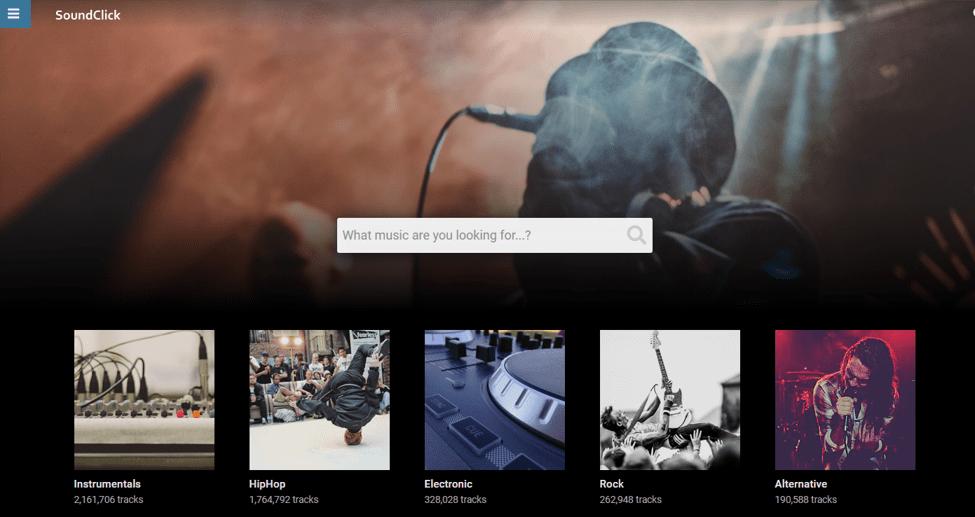Best Music Download Sites - SoundClick