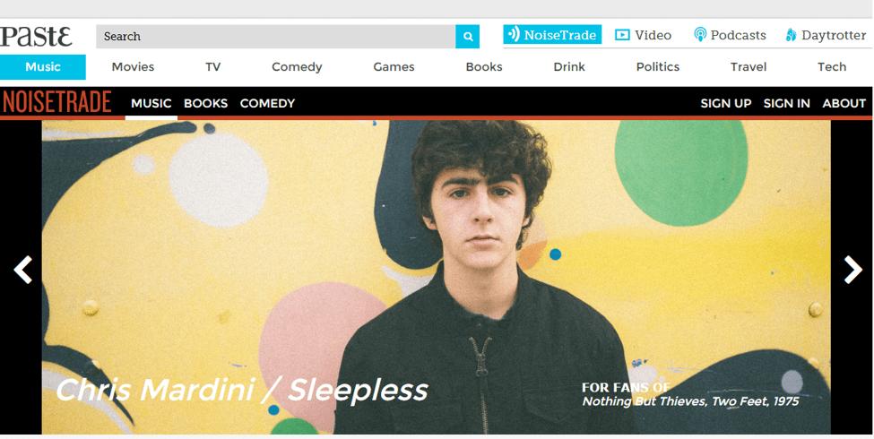 Best Online Music Download Site - NoiseTrade