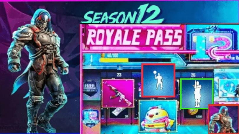 PUBG MOBILE Season 12 - Season 12 Royal Pass