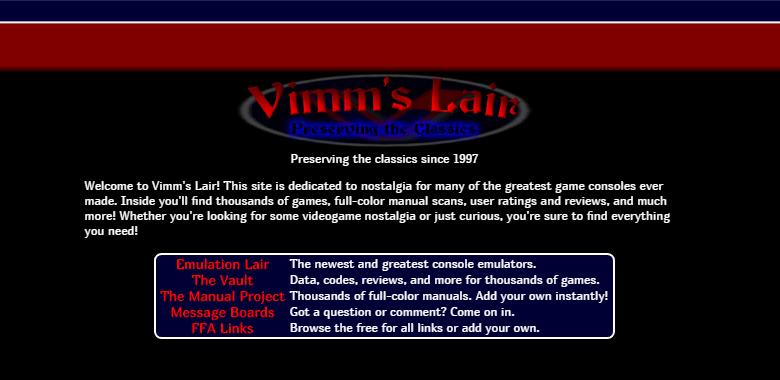 Vimm's Lair