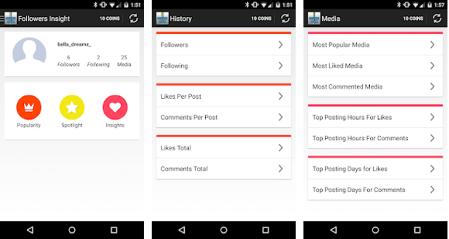 Best Instagram Followers Apps - Followers Insight for Instagram