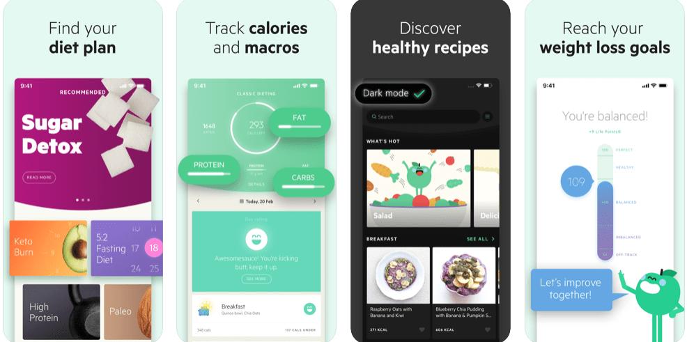 Best Free Diet Apps - Lifesum