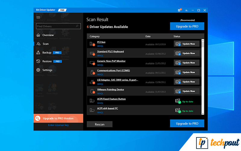 20 Best Free Driver Updater Software For Windows 10 8 7 In 2021 Updated