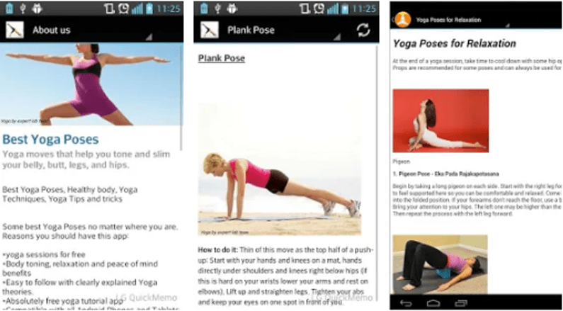 Best Free Yoga Apps For Android - Yoga