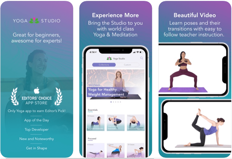 Best Yoga Apps For to Stay Healthy & Fit - Yoga Studio