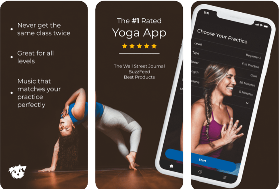 Best Yoga Apps - Down Dog
