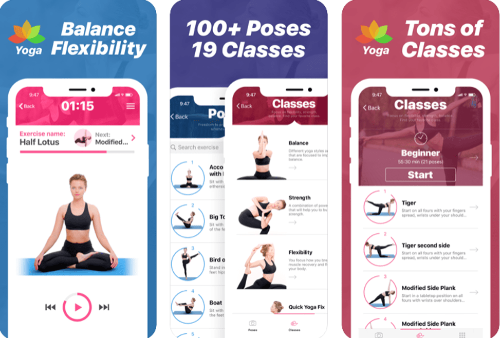 Best Yoga Apps - Yoga- Poses and Classes