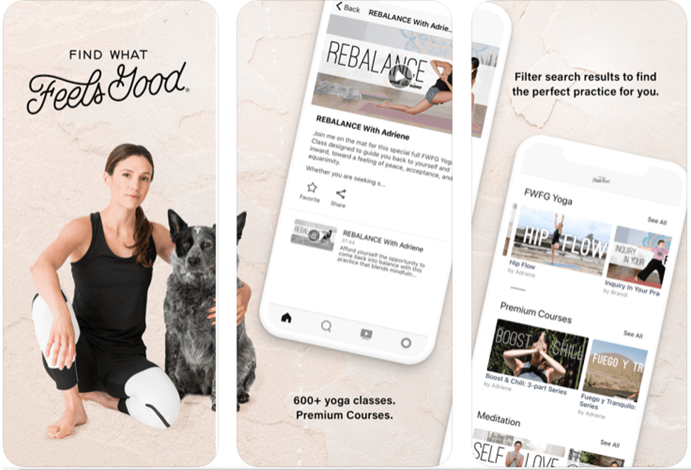 Best Yoga Apps - Find What Feels Good: Yoga With Adriene