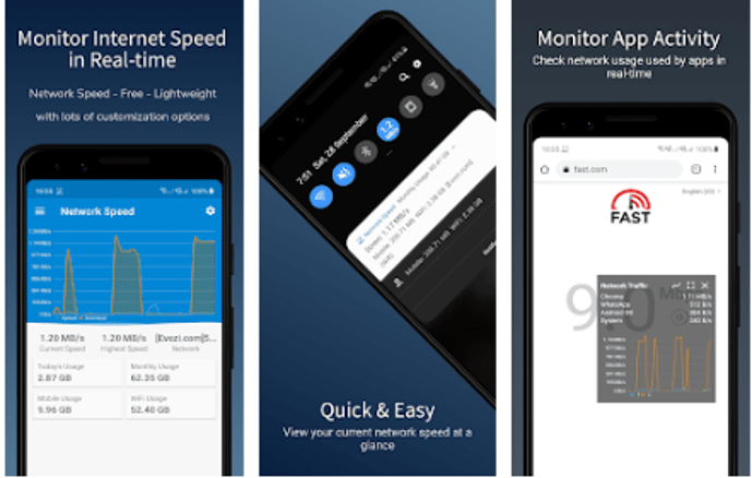 Best Data Monitoring Apps - Speed Indicator