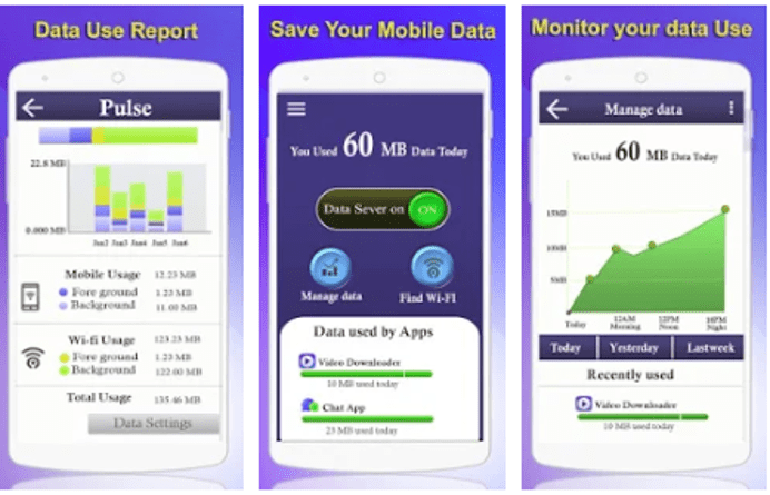 Best Data Monitoring Apps - Data Manager Data Saver & Device Manager 2018
