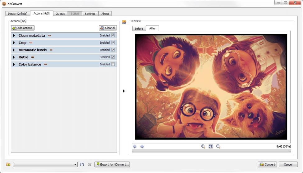 Best Image Converter Software For Windows -  XnConvert