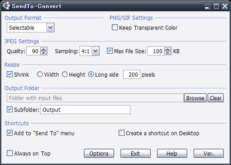 Best Image Converter Software - SendTo-Convert