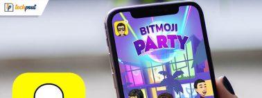 Play Snap Games on Snapchat