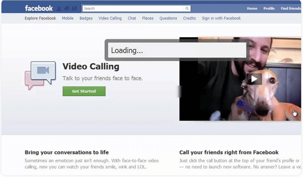 Best Video Call Software - Facebook Video Chat