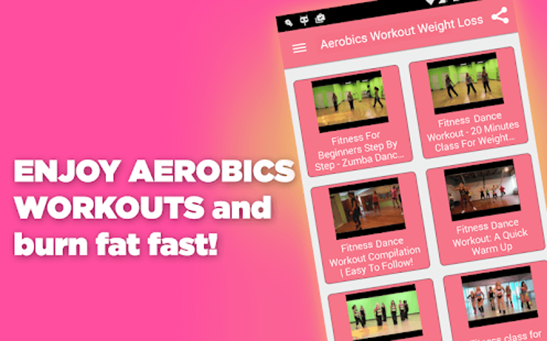 Best Zumba Apps - Aerobics Dance Workout For Weight Loss