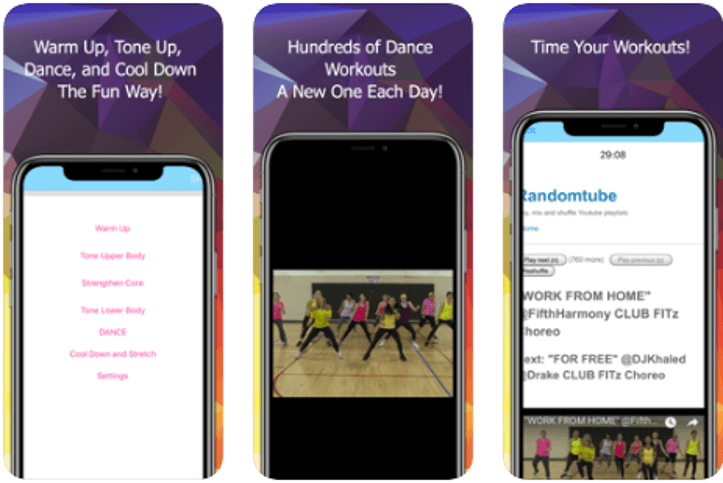 Best Zumba Apps - Dance Fit Happy