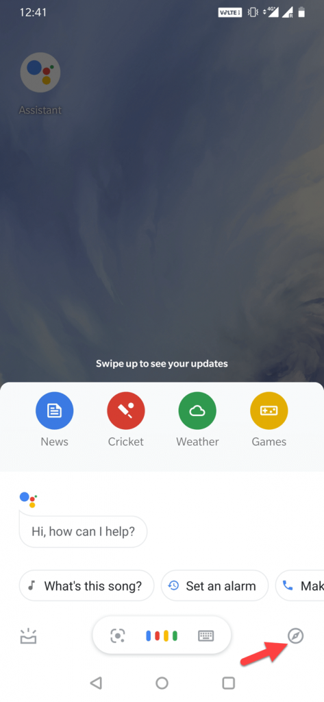 Launch Google Assistant Application on Your Android