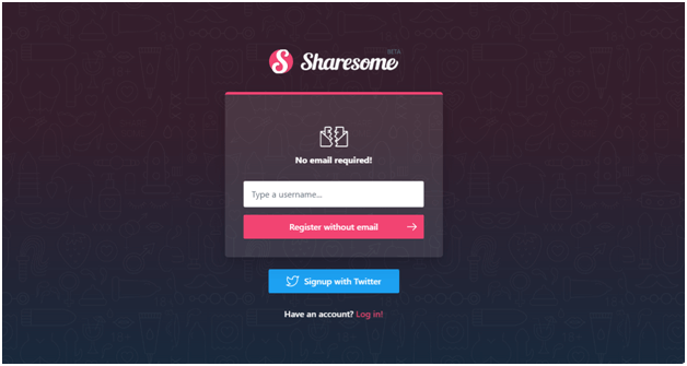 ShareSome - New Site like Tumblr