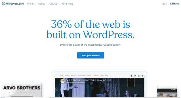 WordPress - Site like Tumblr