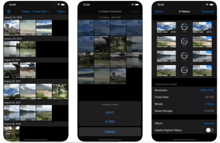 Best Video Compressor Apps For iPhone -  Video compressor & Editor