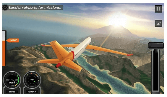 Best Simulation Games - Flight Pilot Simulator 3D