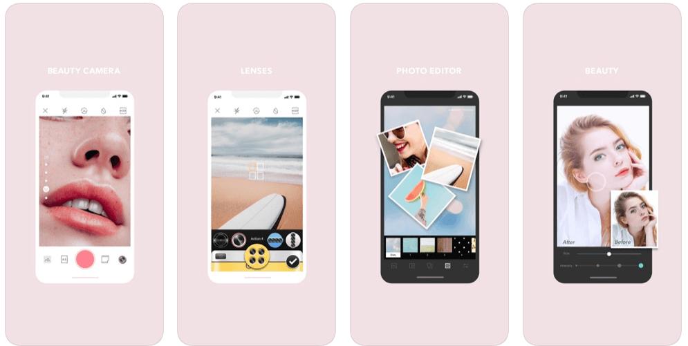 Best Selfie Apps - Cymera